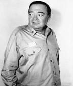 Peter Lorre posed publicity shot.