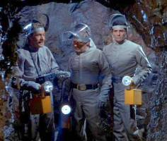 Dr. Land, Nelson and Crane first enter the cave in search of Zycron 143.