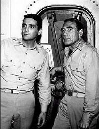David Hedison and Gary Merrill