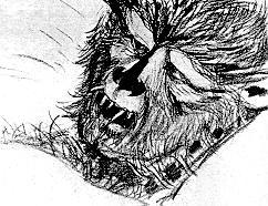 Production art created for Brand of the Beast.
