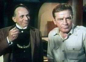 Henry Jones and Richard Basehart--two talented actors center stage.