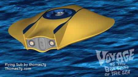 Link through for more of Thomas7g's Flying Sub images.