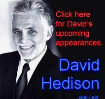 Link through for David's upcoming appearances.