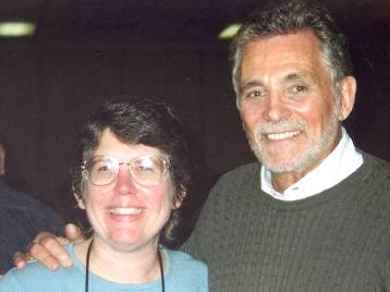 Site contributor Diane Kachmar and David Hedison