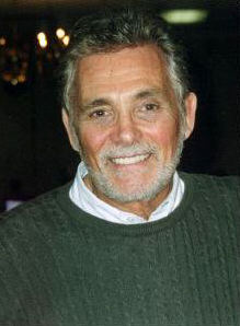 Still looking great, David Hedison in 2003.