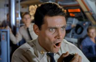 David Hedison always took his acting, if not the writing, seriously.