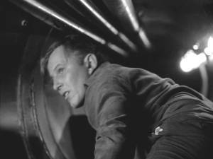 Great shot of Jan Merlin in the ventilation shafts.